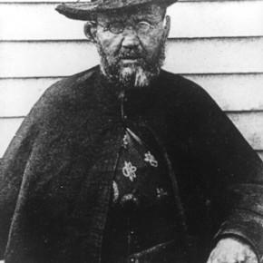 Pater Damiaan 49 jaar, Molokaï, 1889