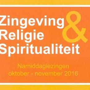 Namiddaglezingen religie, zingeving en samenleving