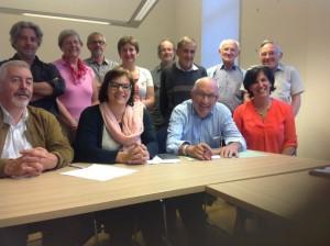Het Dr.Hemerijckxcomité Ninove - copyright Damiaanactie