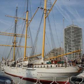 Zeilschip Mercator terug thuis