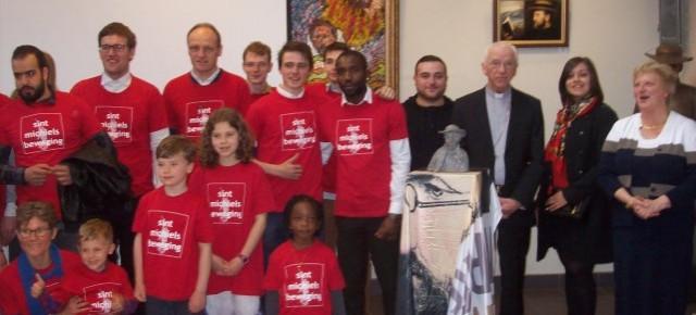 Sint-Michielsbeweging wint Damien Award 2017